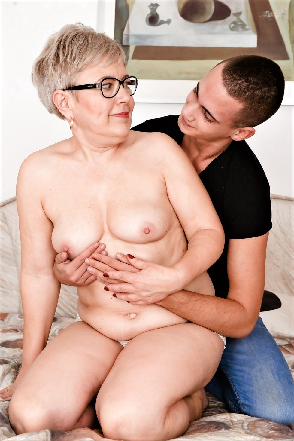 Granny and young man video website, zoey violet naked