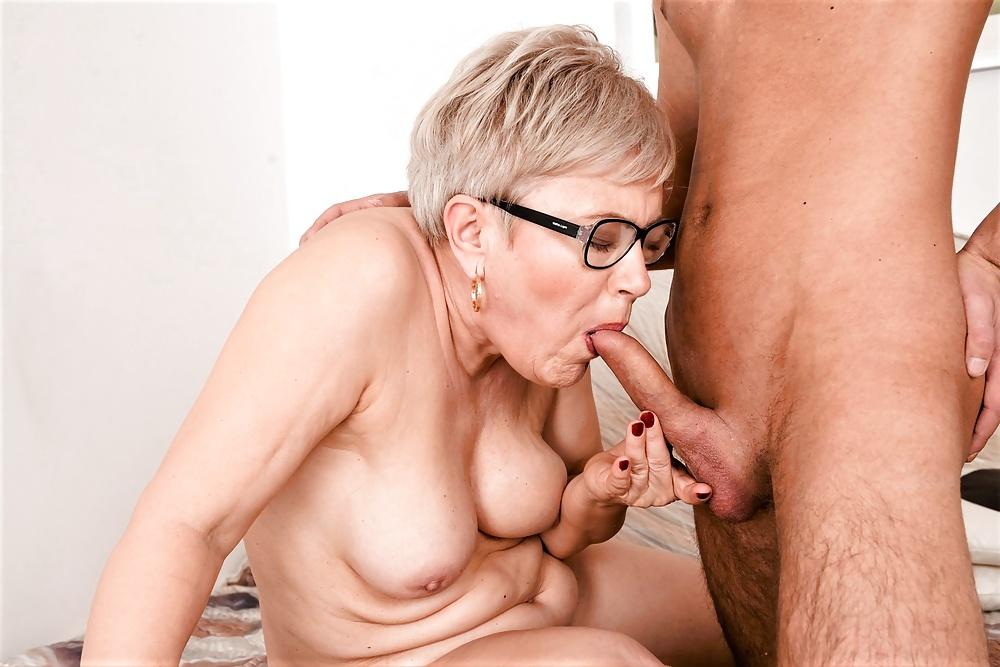 Tiny Grandma Needs A Soft Dick 1