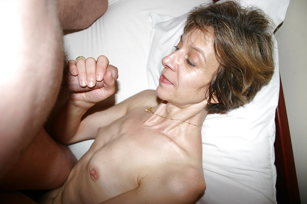 Skinny small tit creampie picture