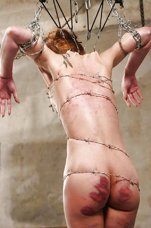 Blood girls bondage