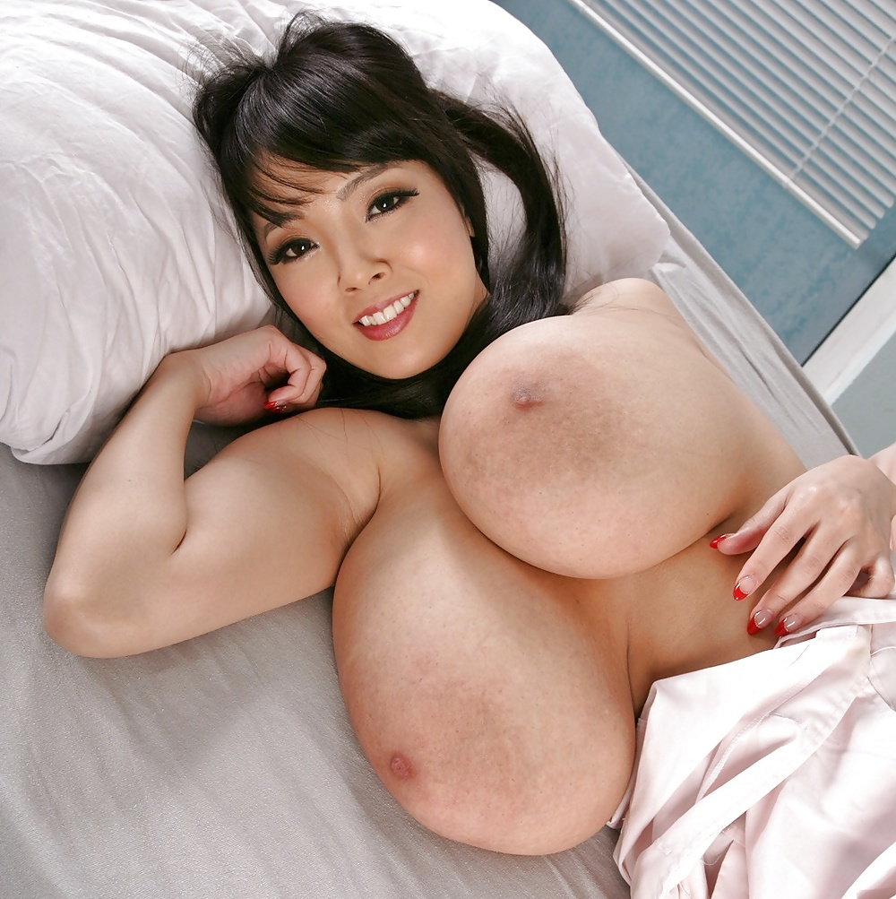 Beautiful Busty Asian With Huge Breasts