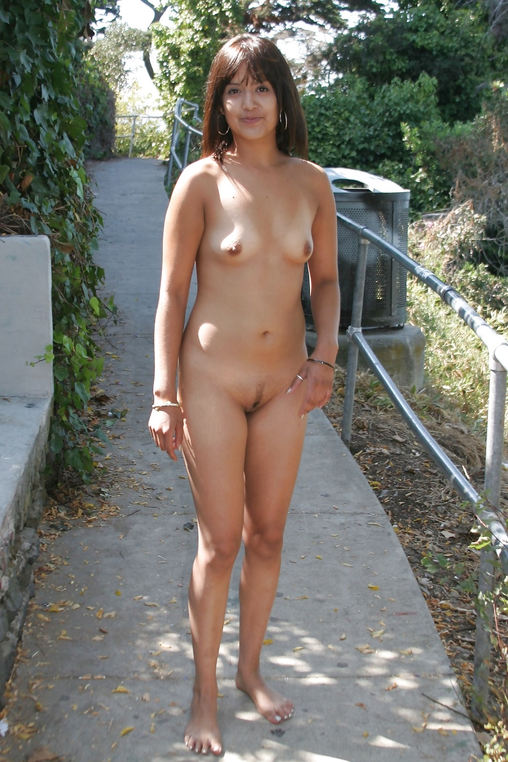 Sexy walking half naked 9