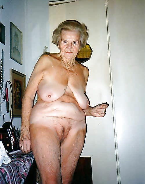 Very Old Nude Women