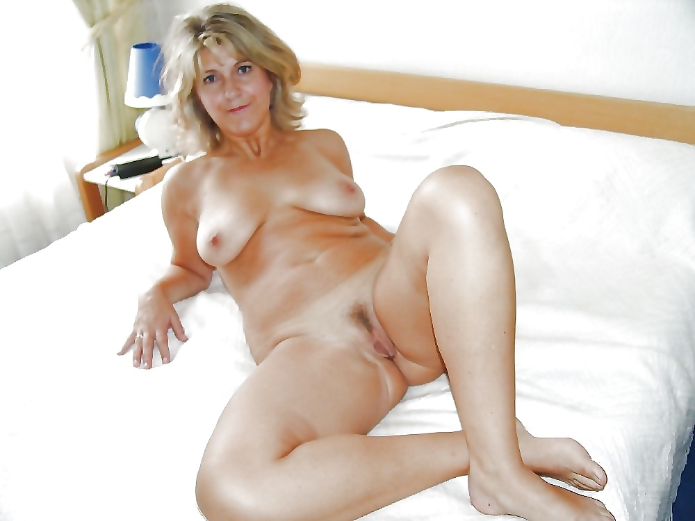 Mature almost nude