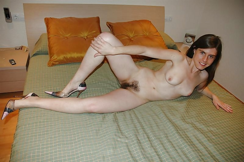 Teen at home hairy