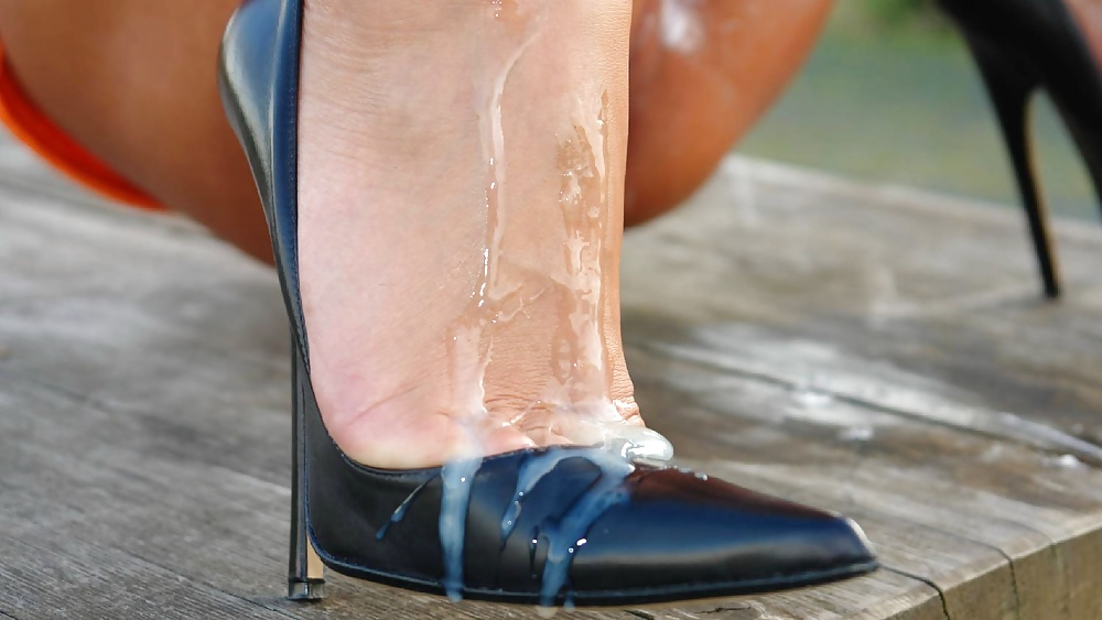 Cum filled heels