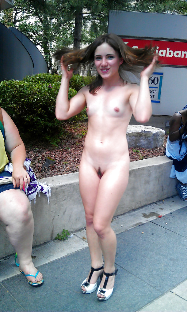 Amatuer girls caught naked in public exciting