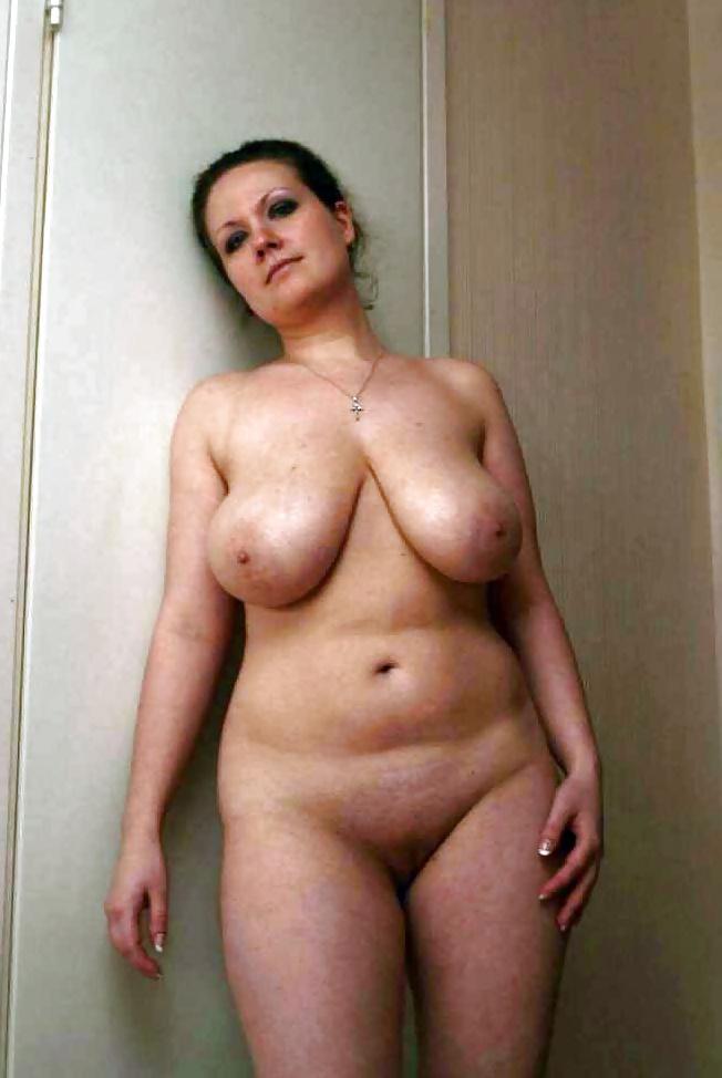 Nude curvy aunt