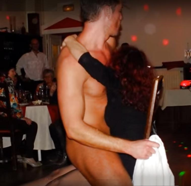 Real male stripper video