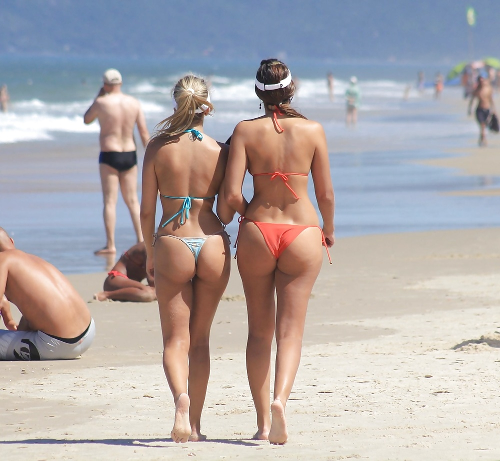 Naked college women in thongs