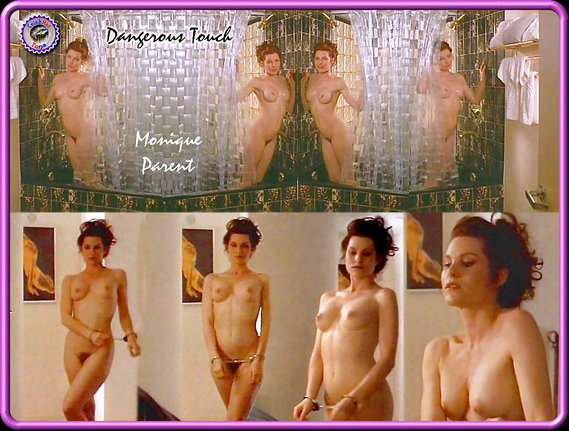 Monique parent naked posing