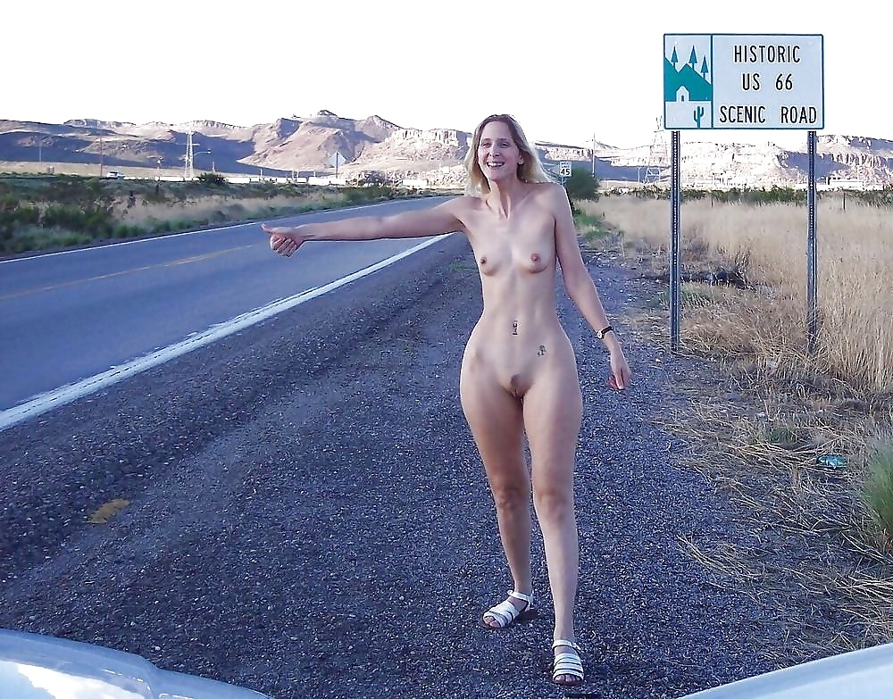 Hot Indians Nude Babe On Road
