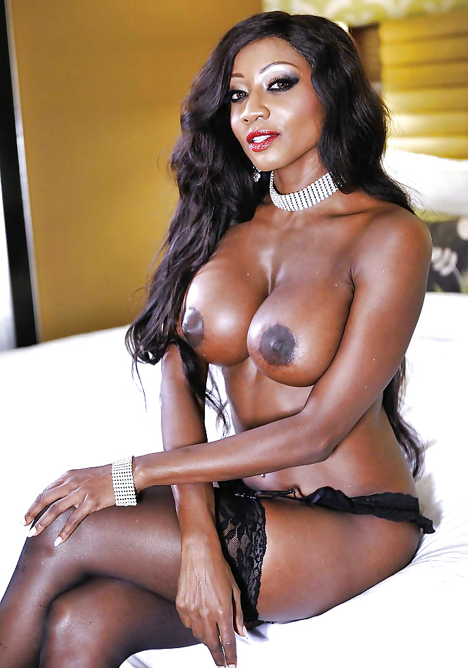 Красивые чернокожие порно актрисы #9