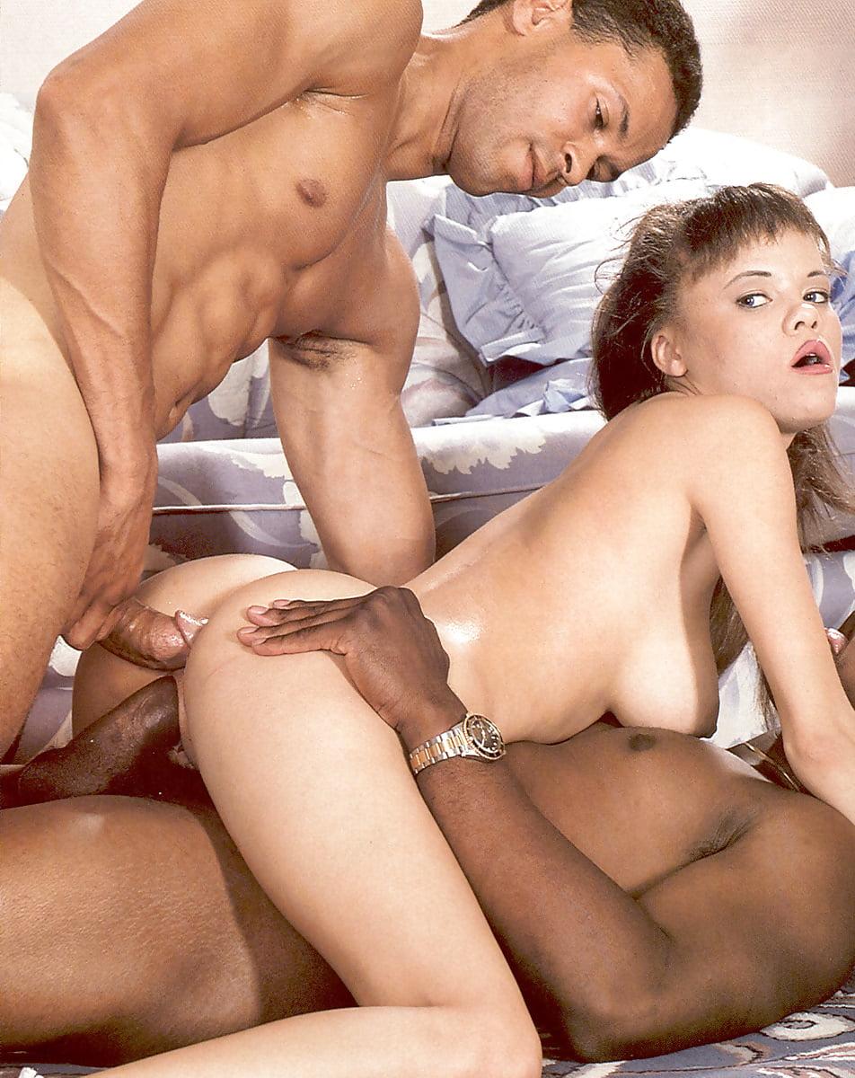 Watch classic threesome