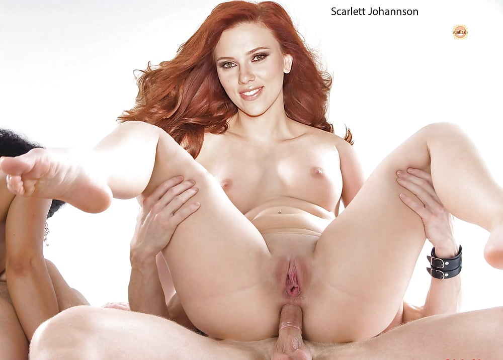 Scarlett johansson nude fakes porno