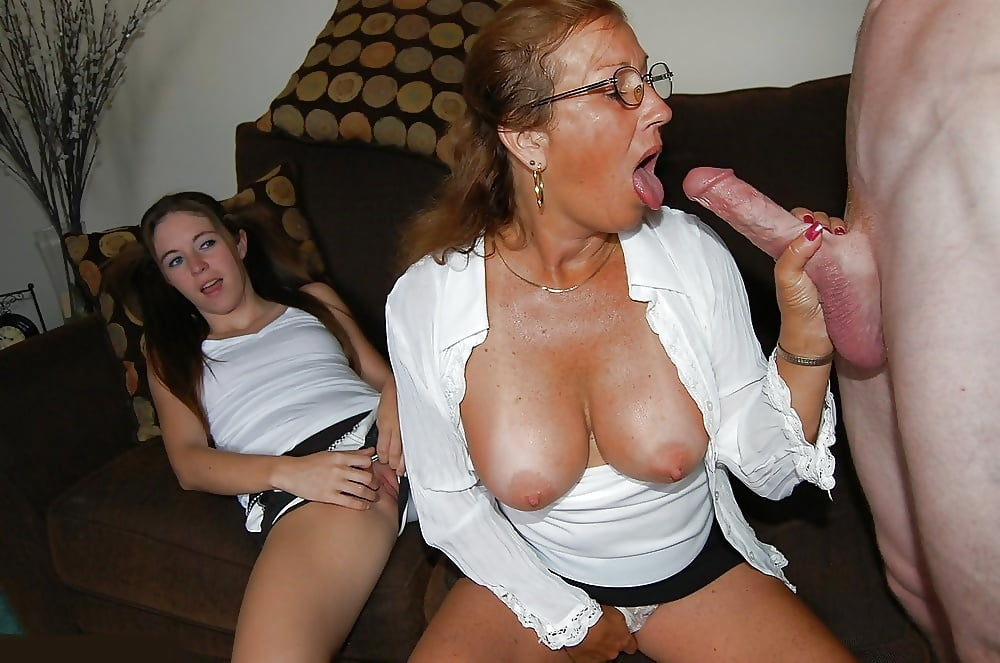 Bra Handjob Mom Kitchen