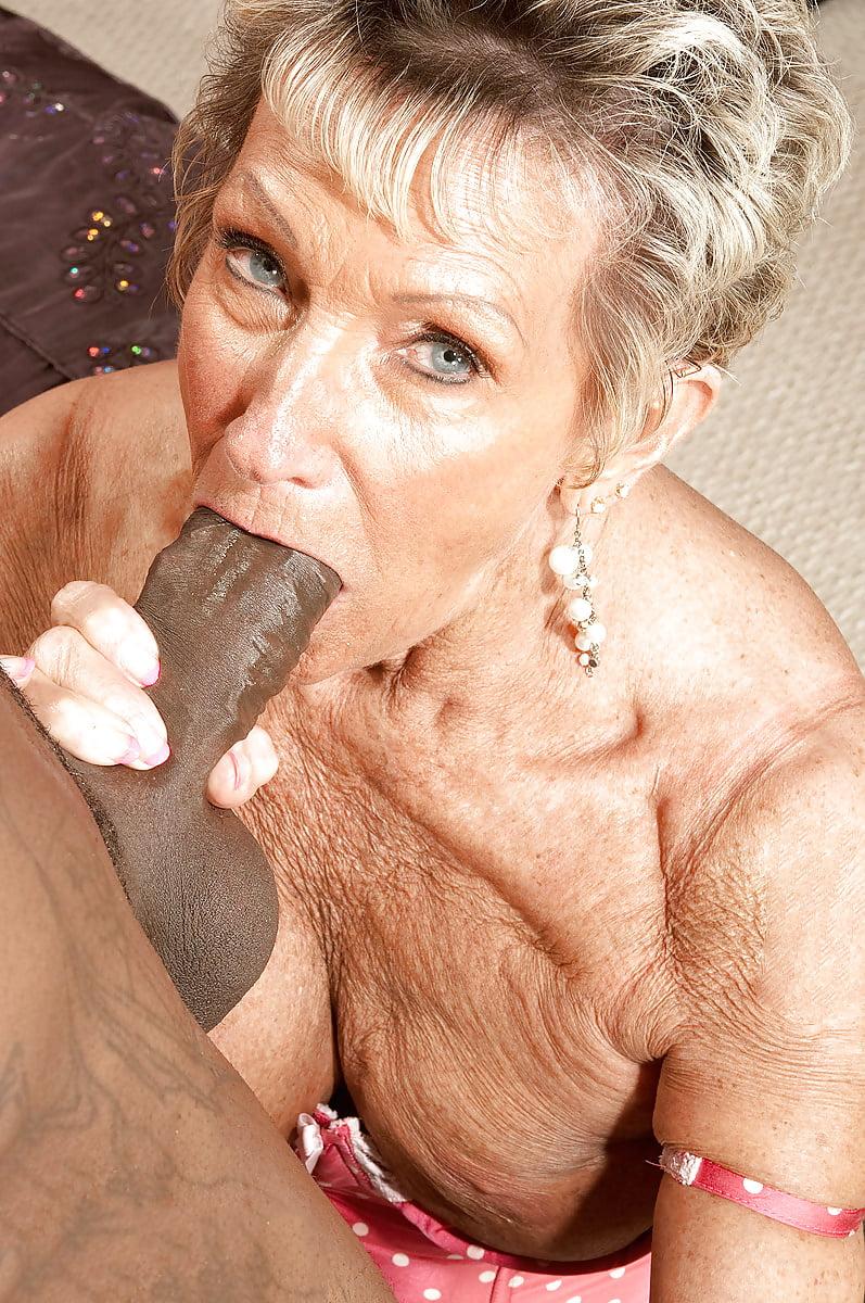 Granny Likes Black Dick