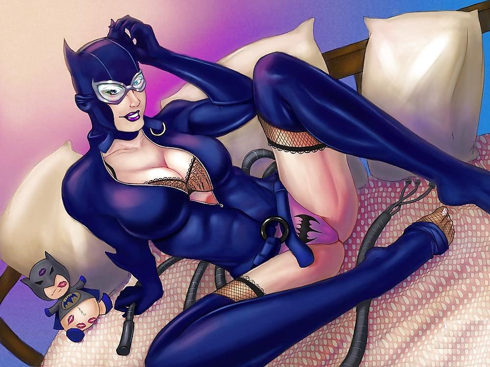 Cc Productions Catwoman Vs Batgirl Cats Eye Diamond