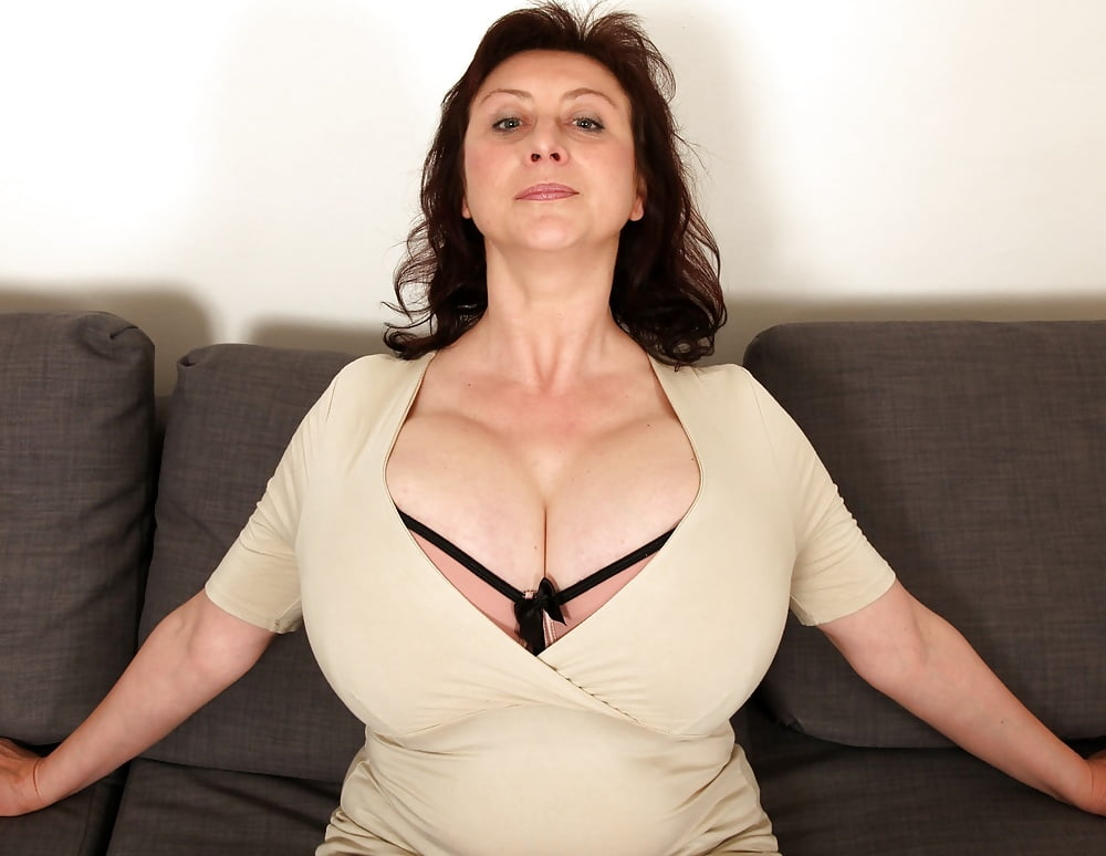 Large breasted mature video — 10