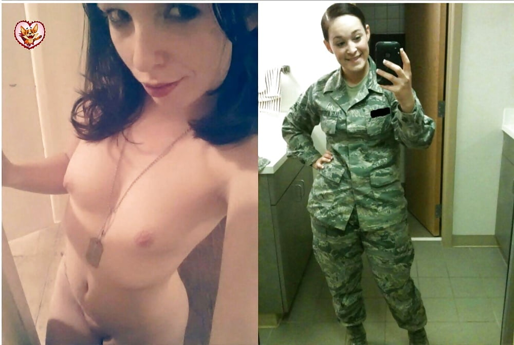 Air force women naked Video of