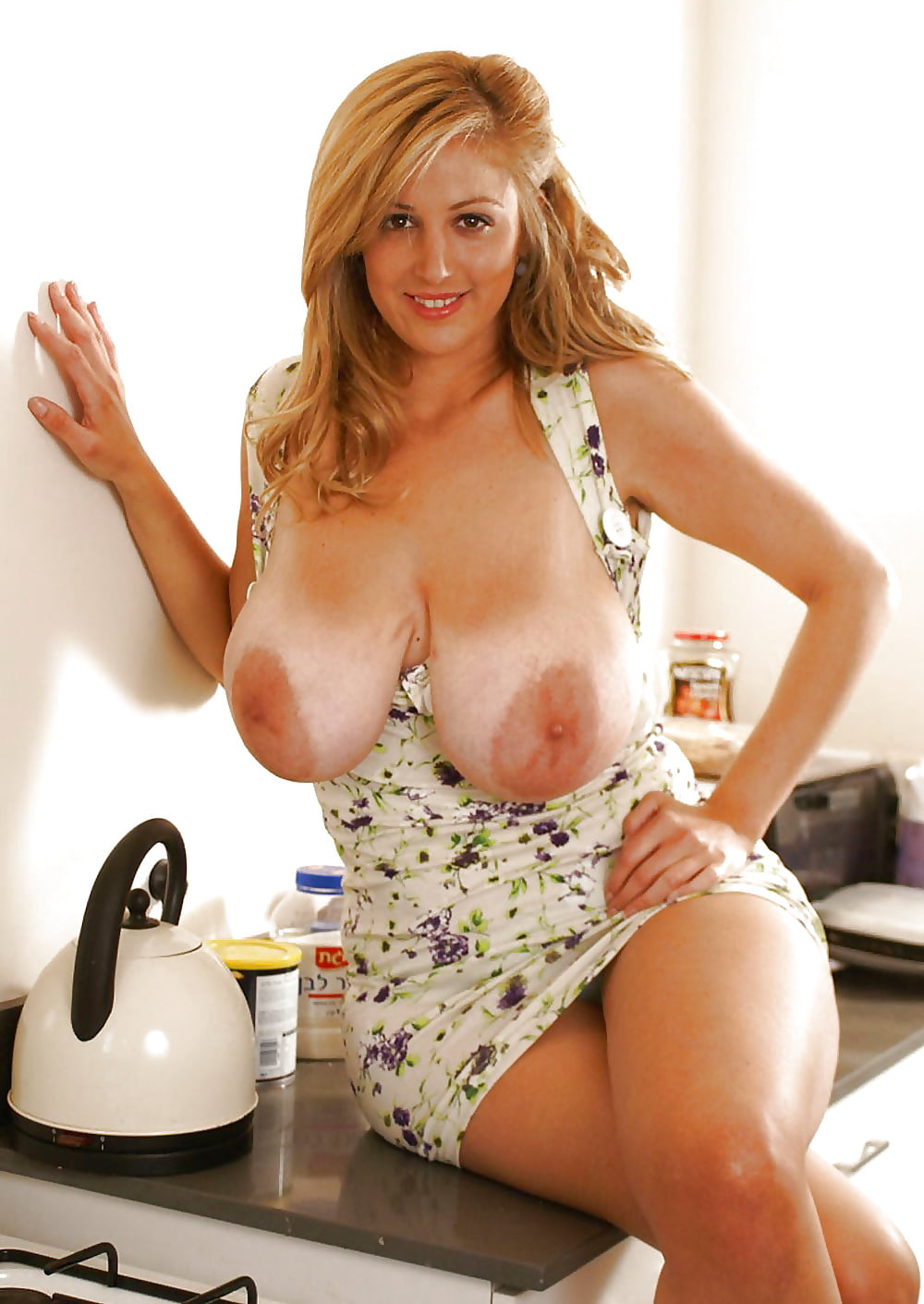 Chubby Housewife With Big Natural Tits