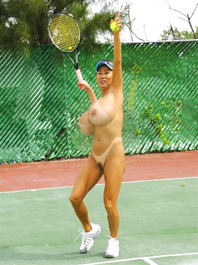 Big tit tennis nude, miko lee bikini galleries