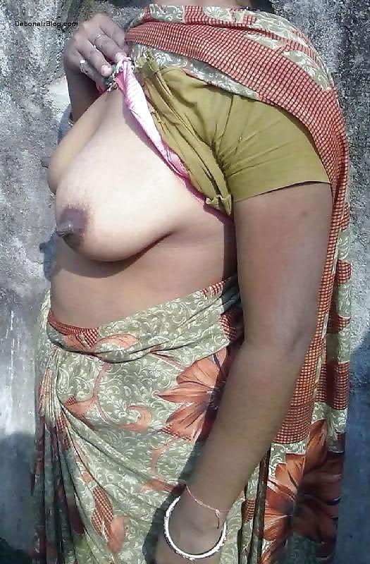 Mallu aunty tight blouse boobs pics