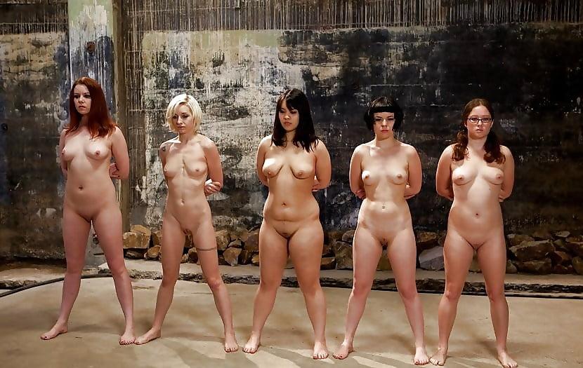 Толпа голых волосатых баб онлайн