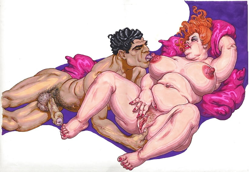 Nude sex in art and cartoons erotic photo
