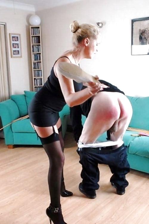 House maid gets brutal ballbusting discipline
