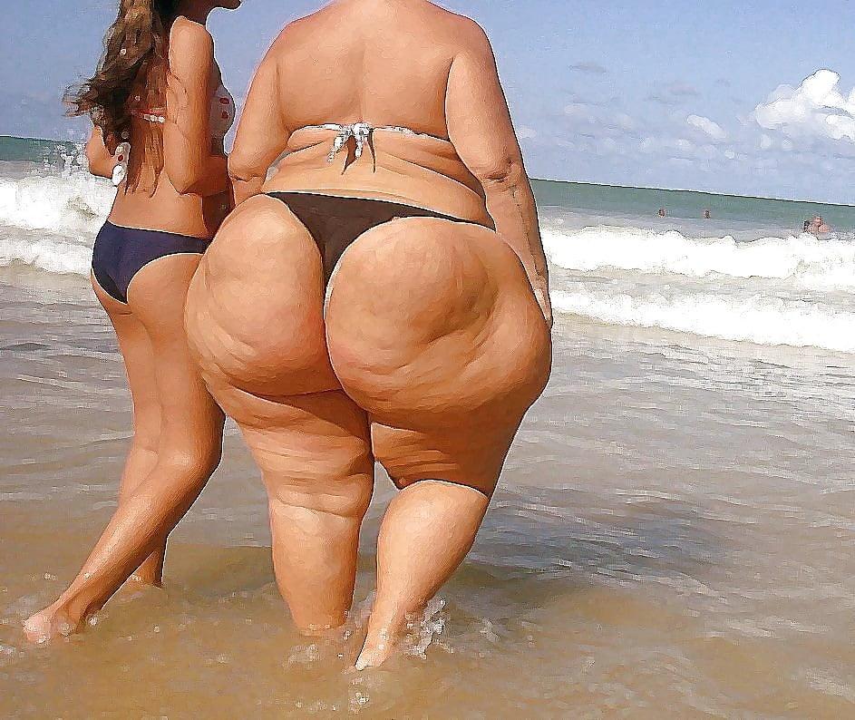 фото толстых женщин и поп ротец