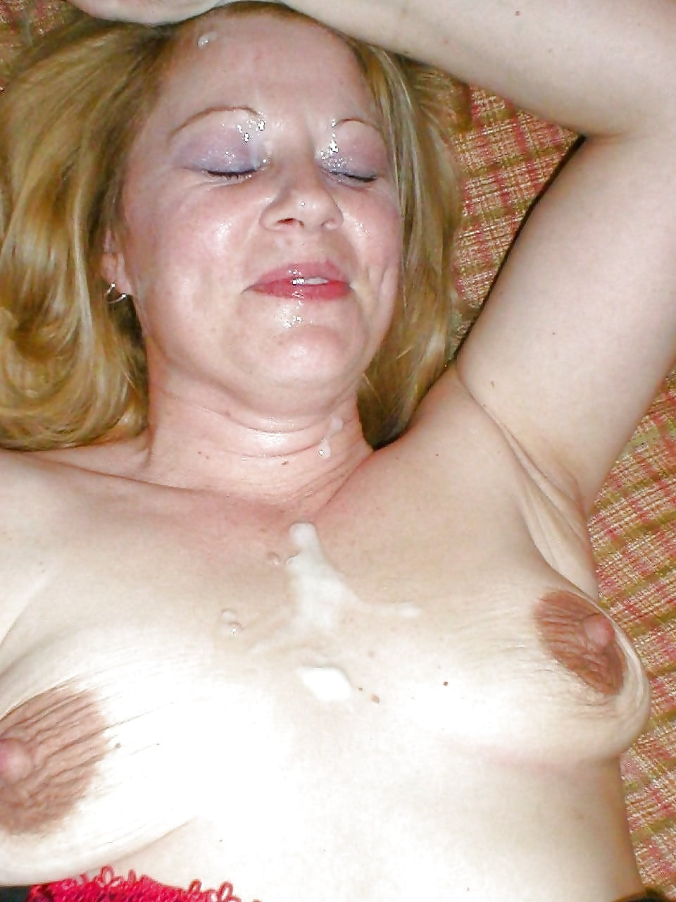 Free cum on mature face mature pictures collection