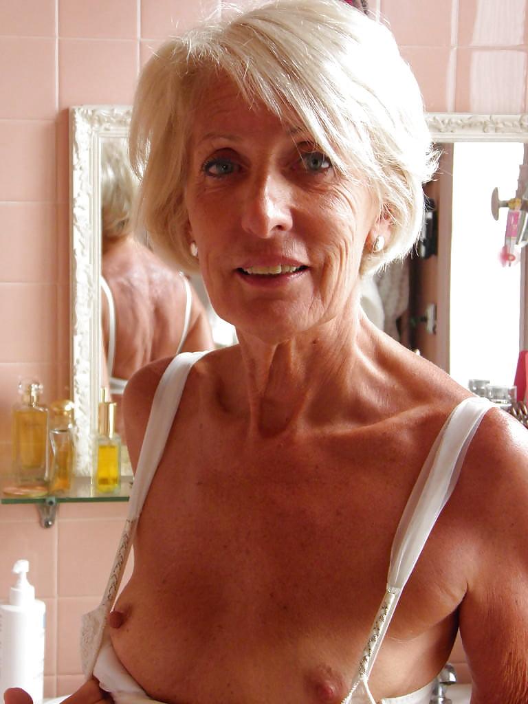 Small boobs older ladies