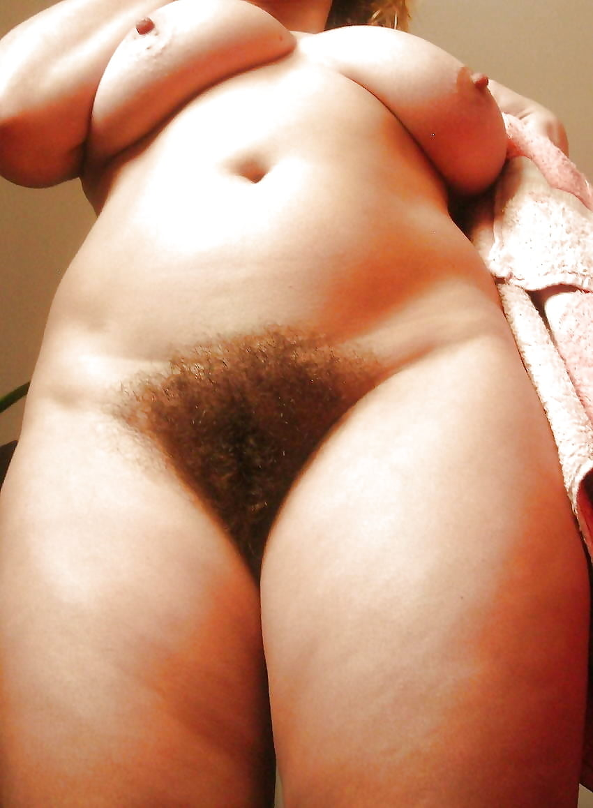 Beautiful Fat Woman With Big Tits And Hairy Pussy Plays In Front Of Us