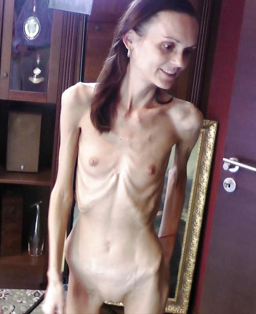 Nude very skinny women