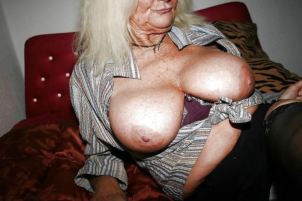 Granny big tits girls