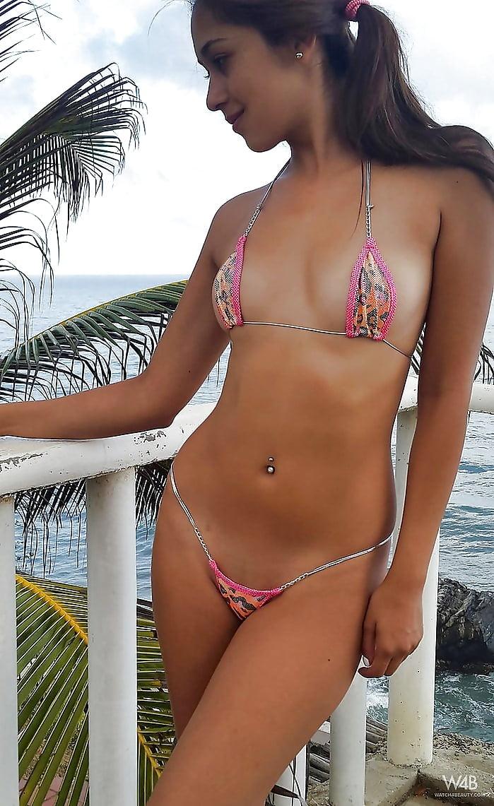 Teens in bikini