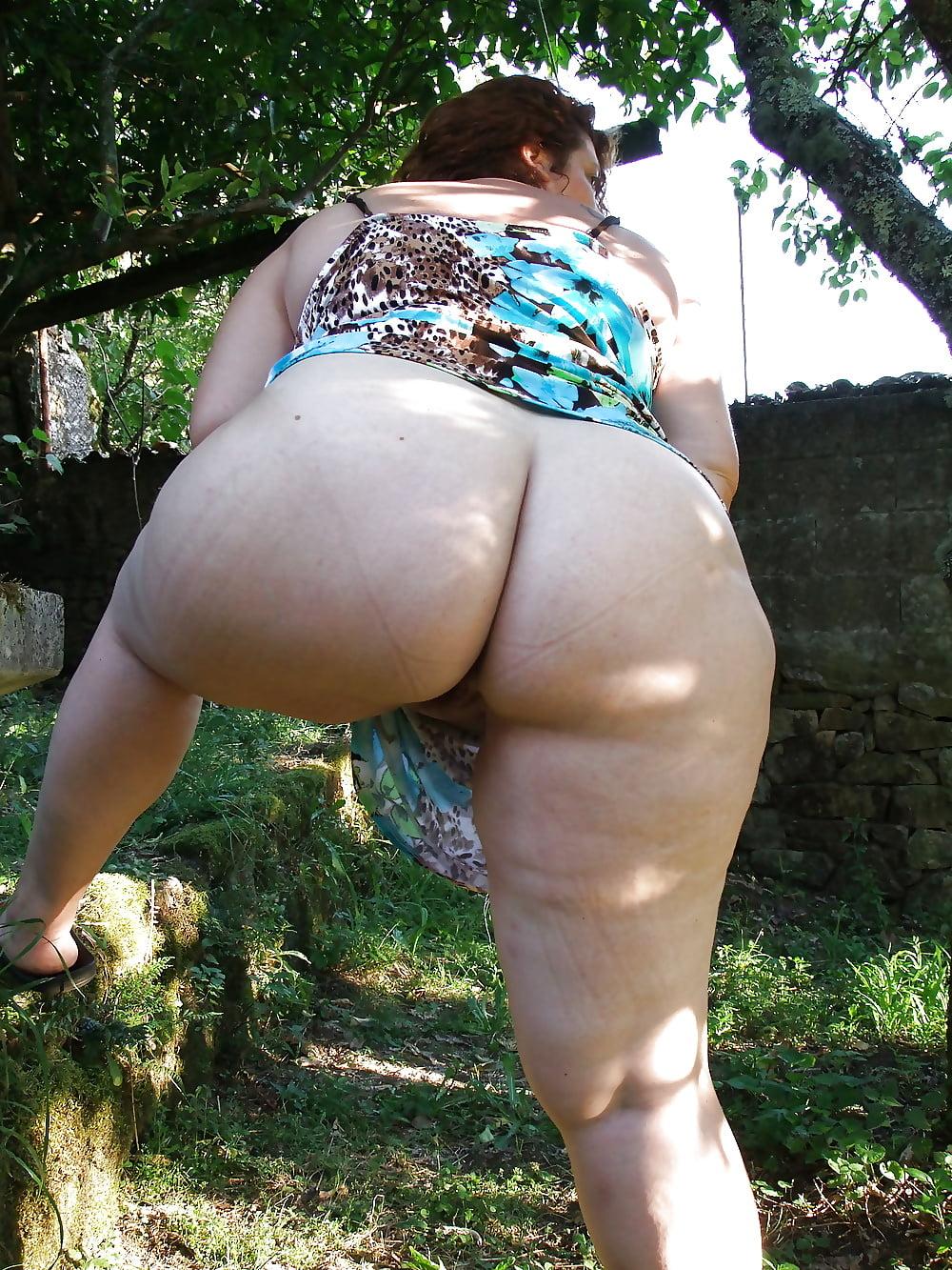 Big mature fat booty