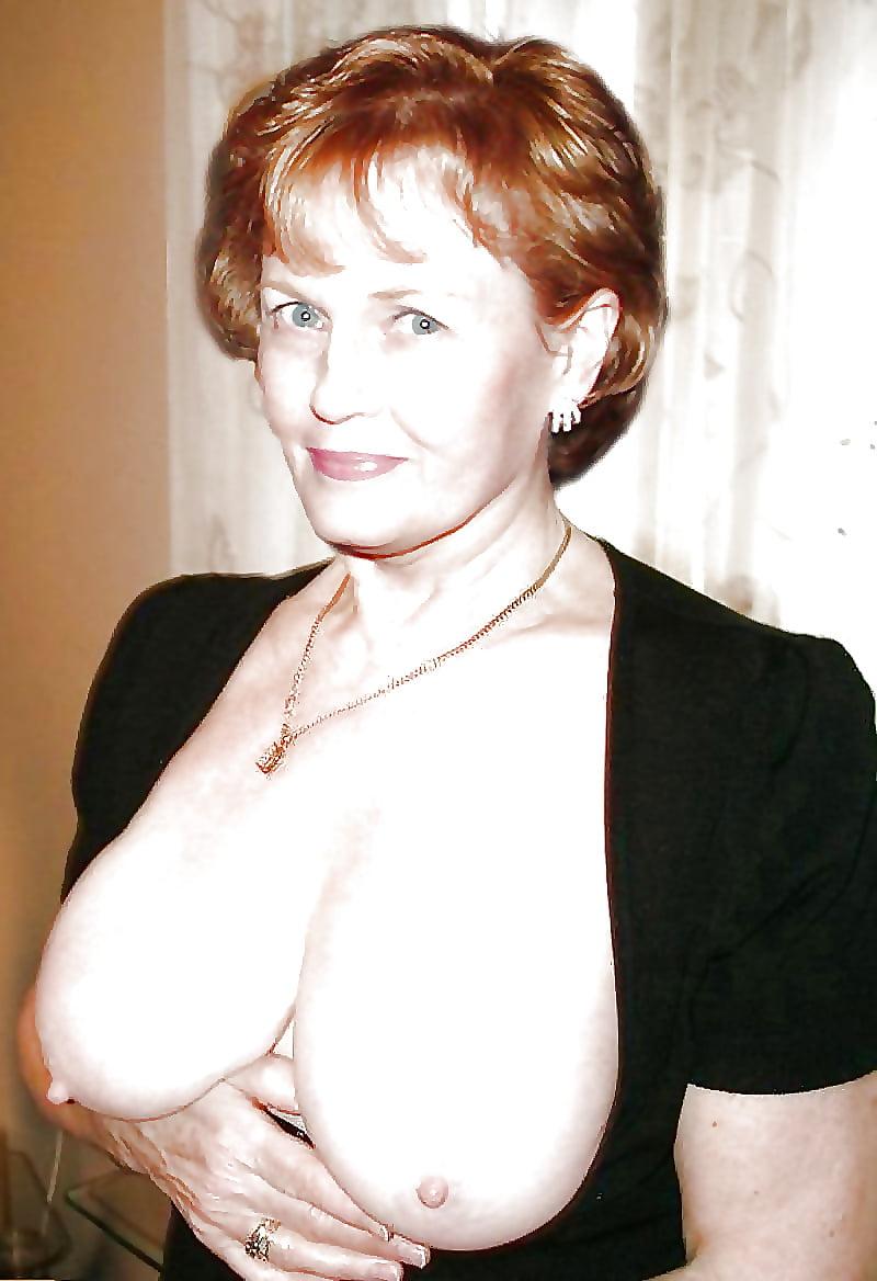 Huge tits old ladies