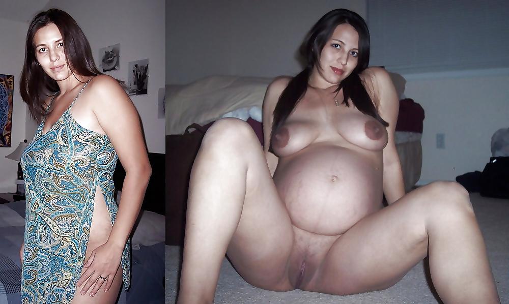 Hot Pregnant Spreading