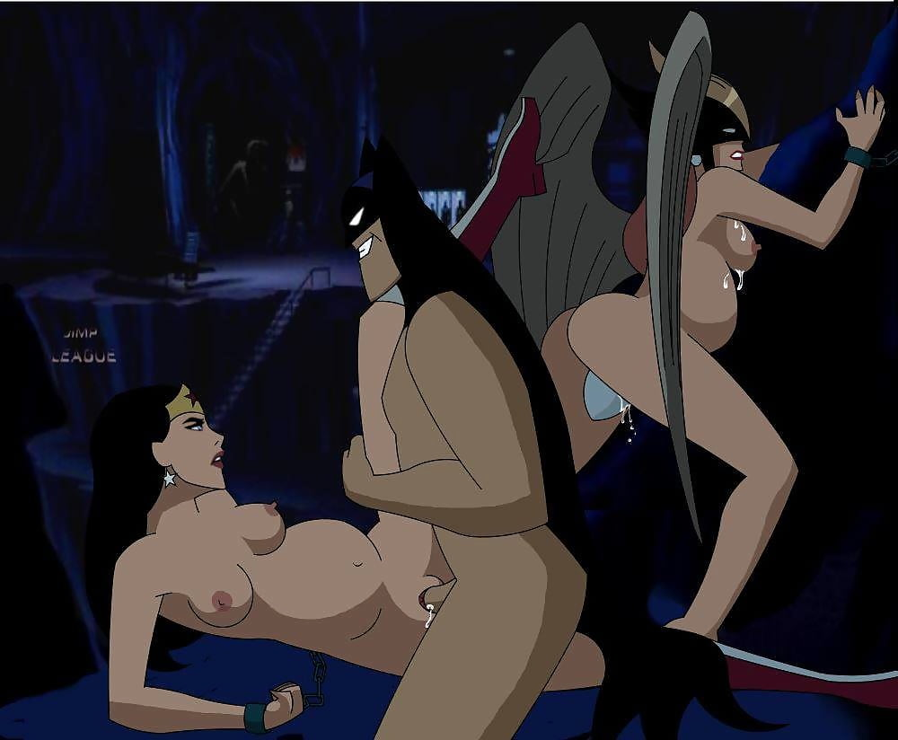Batman and wonder woman sex