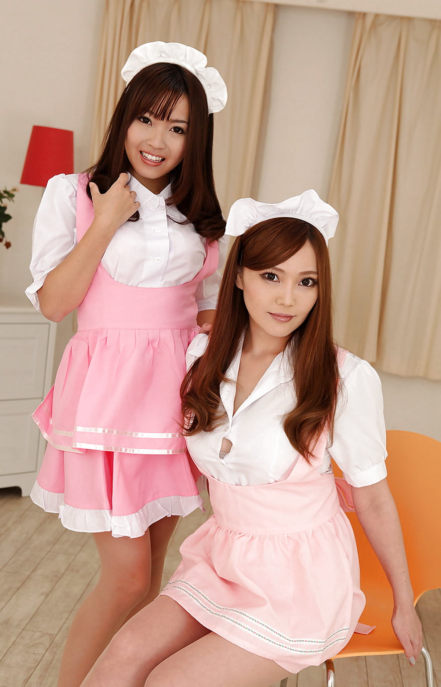 Japan maid movie, selling shaved ice