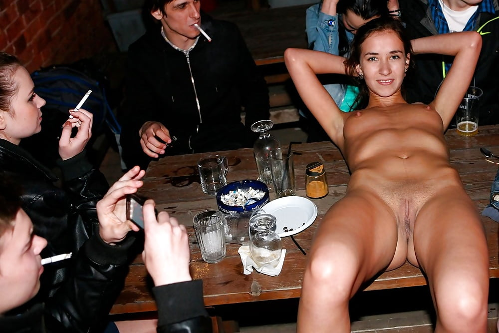 Wife at strip bar 6