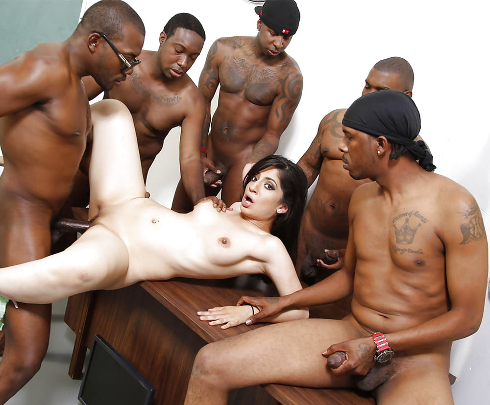 Black Men Gangbang Innocent White Woman