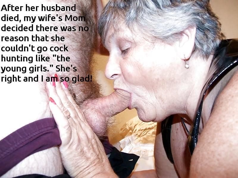 от бабушки минет глубокий