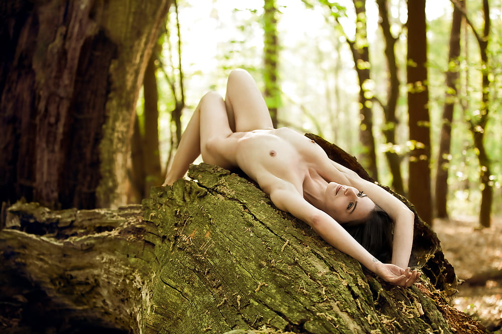 Kathy Lee Naked In The Forest