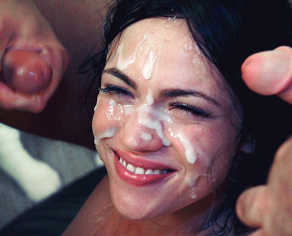 Cum in the face latina — pic 10