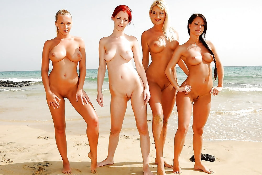 Hot nude girls on the beach — 7