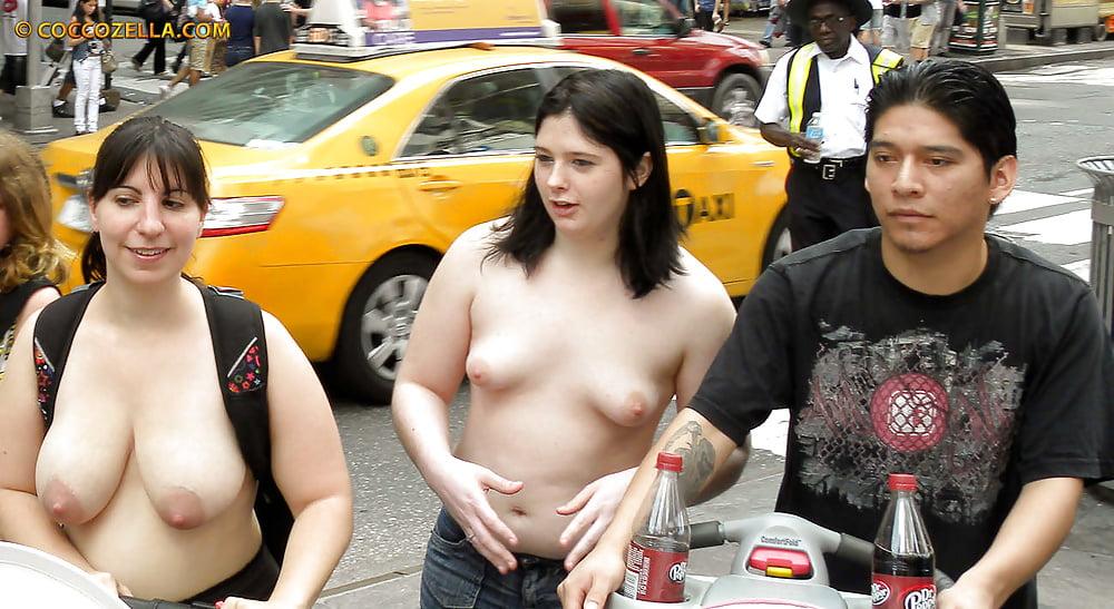 Topless public pics 13