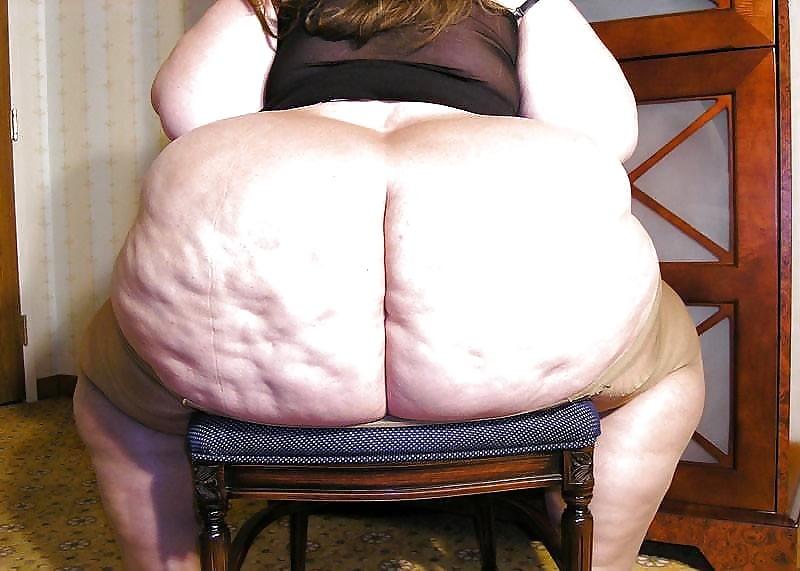Очень жирные и толстые жопы